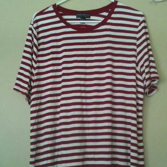 04671d246b Forever 21 Tops | Classic Striped Tee | Poshmark